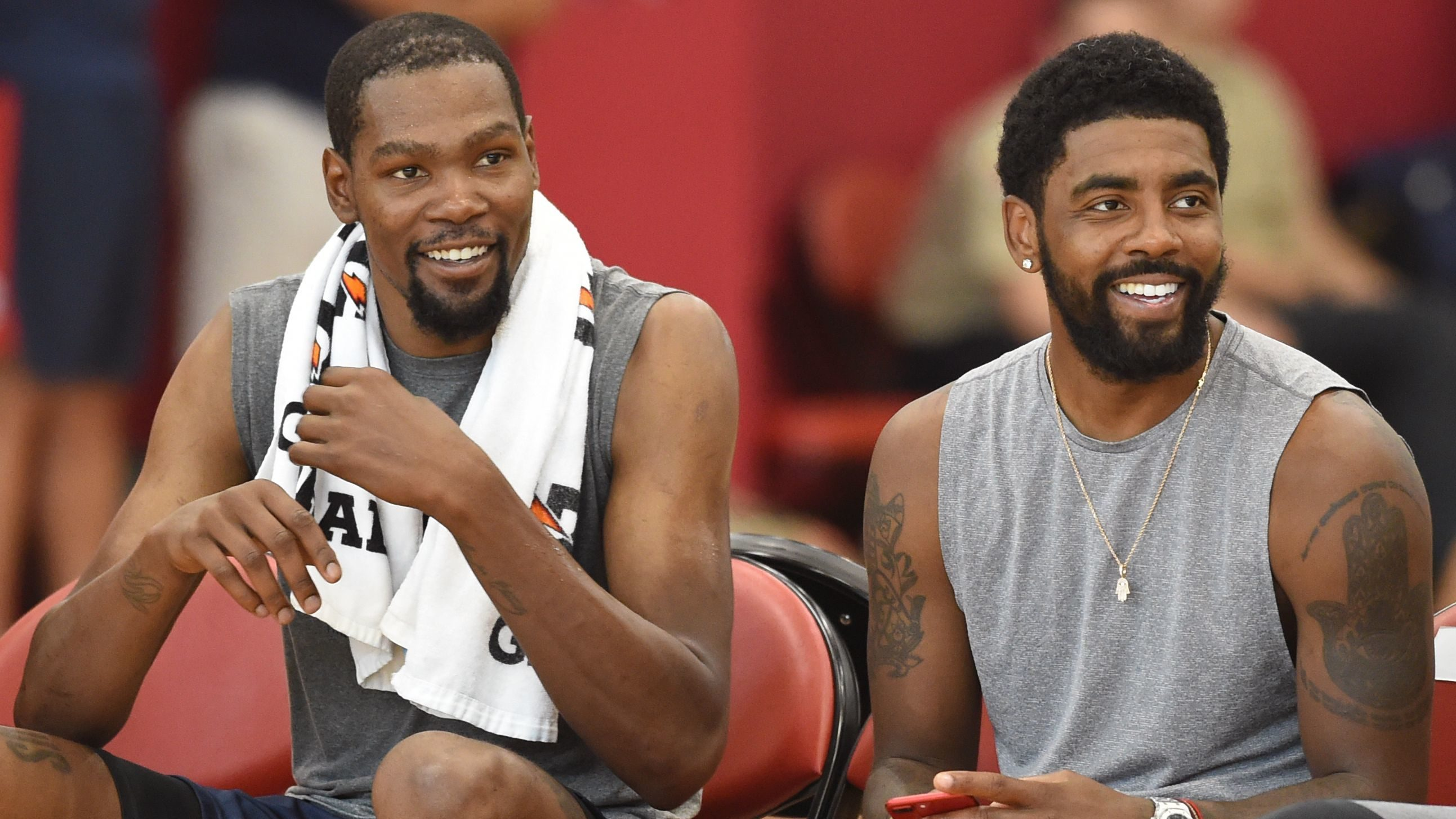 Kevin Durant Kyrie Irving Knicks Trade deal NBA free agency 2019