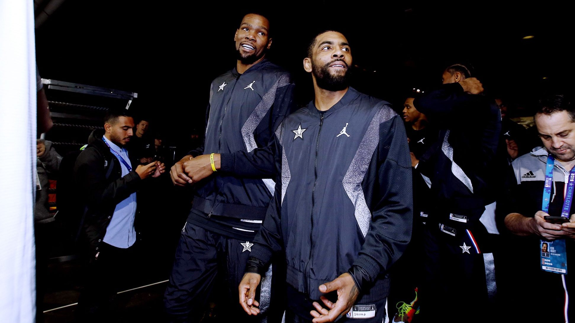 Kevin Durant vs Kyrie Irving