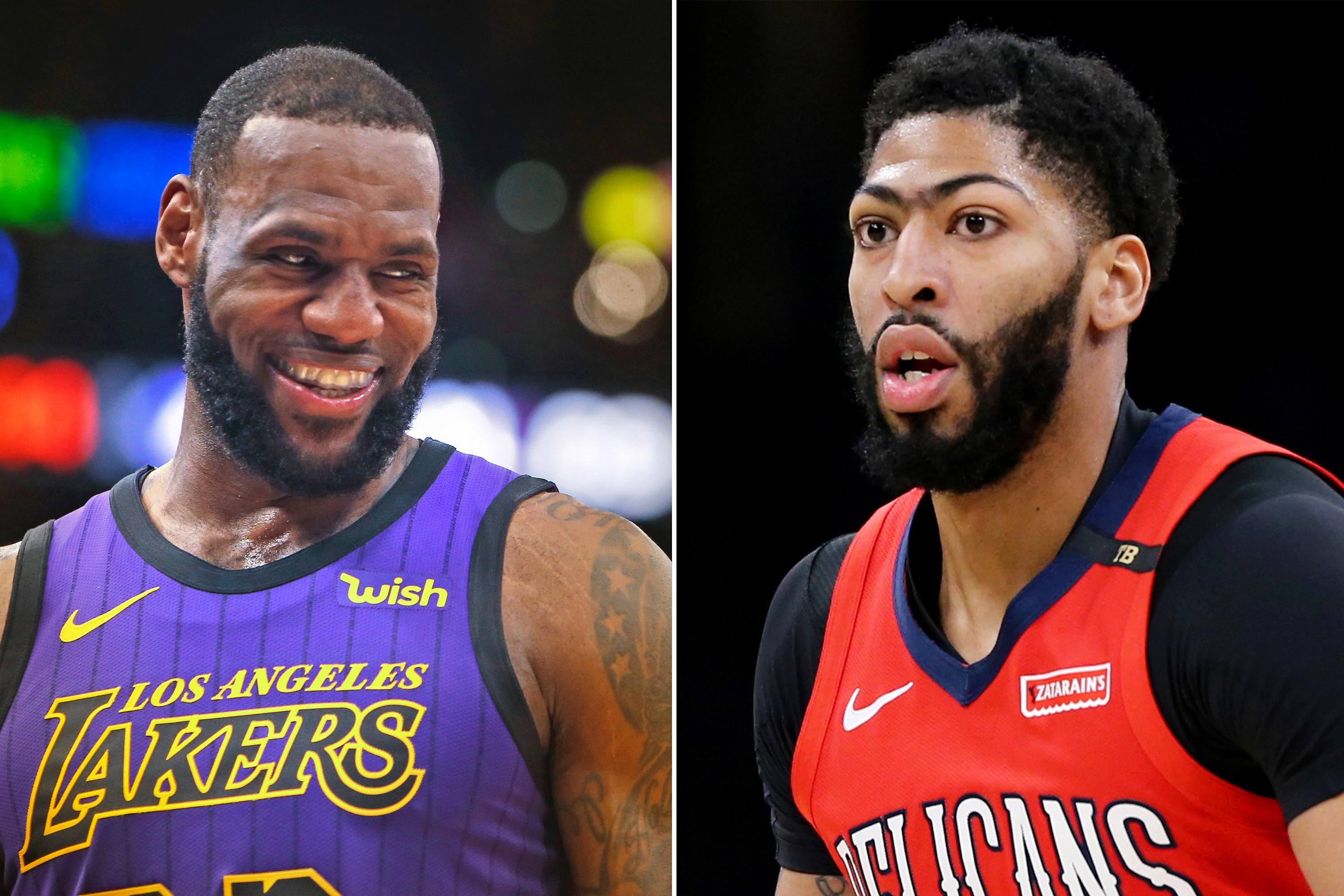 LeBron James and Anthony Davis NBA trade news free agency