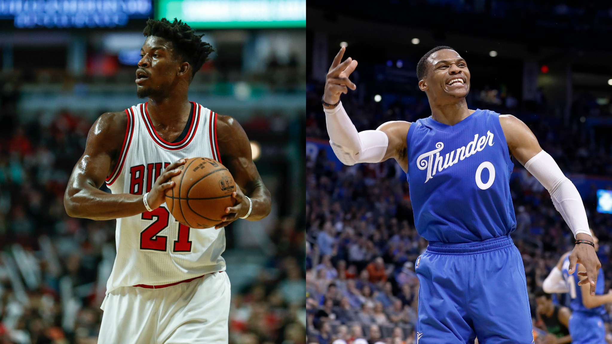 Russell Westbrook Jimmy Butler Miami Heat Power Duo