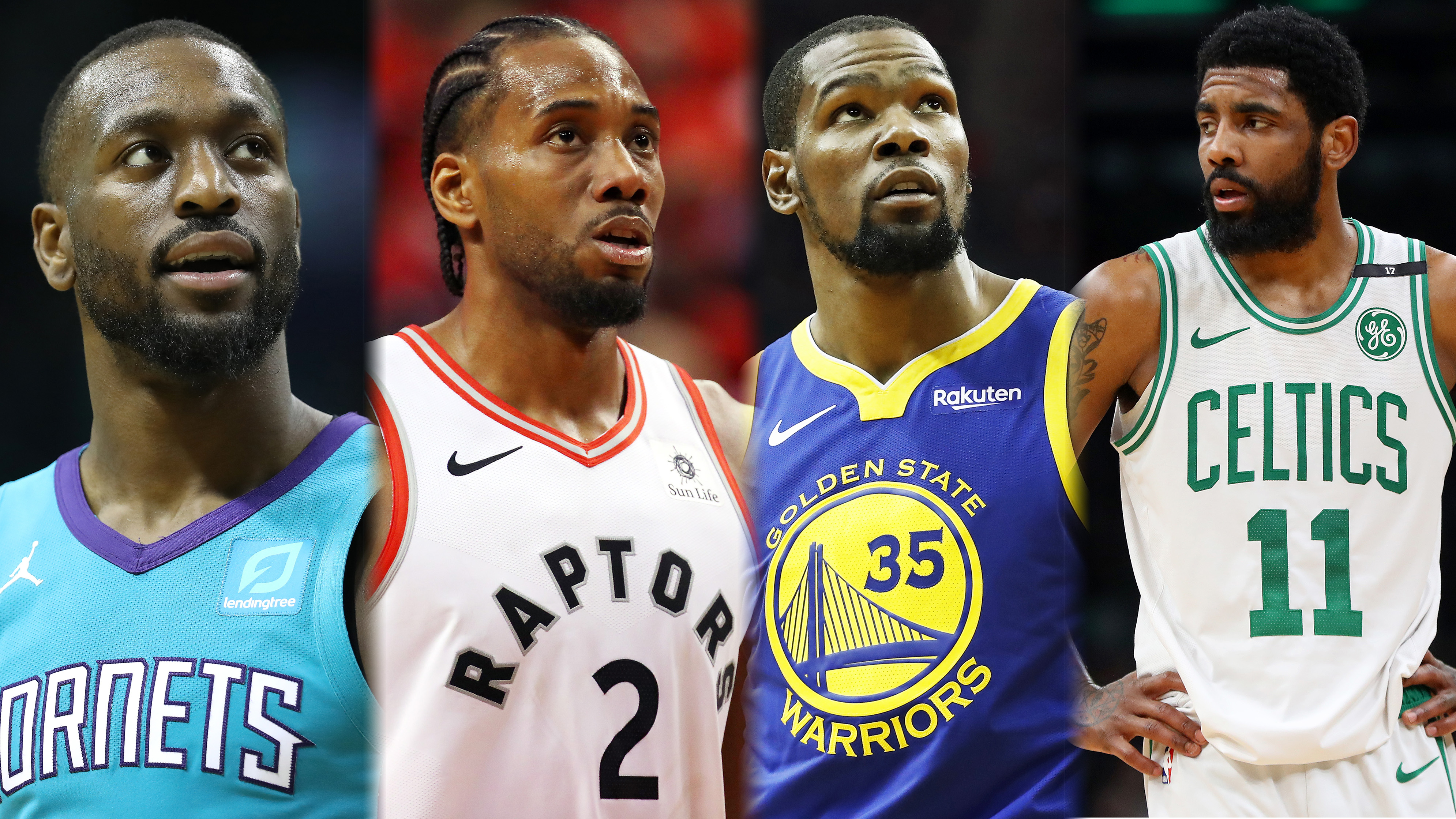 NBA free agency trade deal Kevin Durant Kyrie Irving Jimmy Butler D Angelo Russel Klay Thompson
