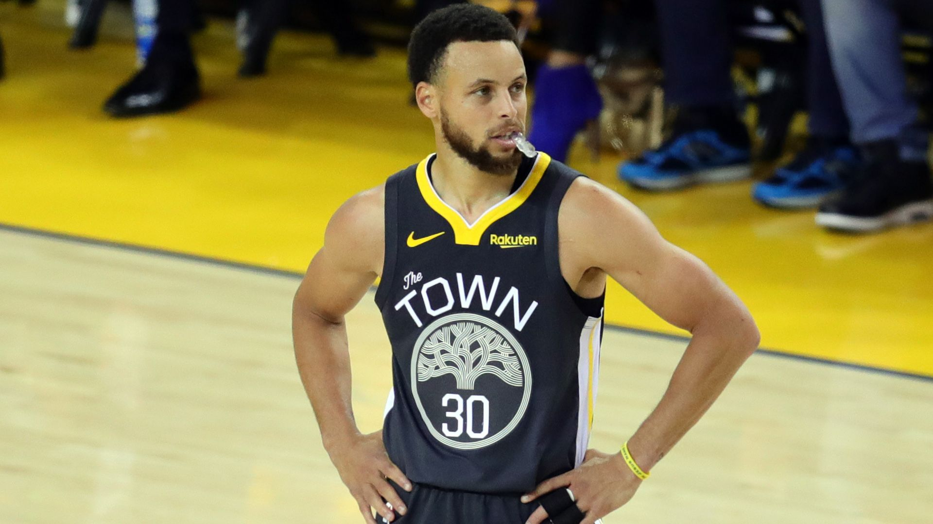 Stephen Curry Kevin Durant Golden State Warriors Houston Rockets