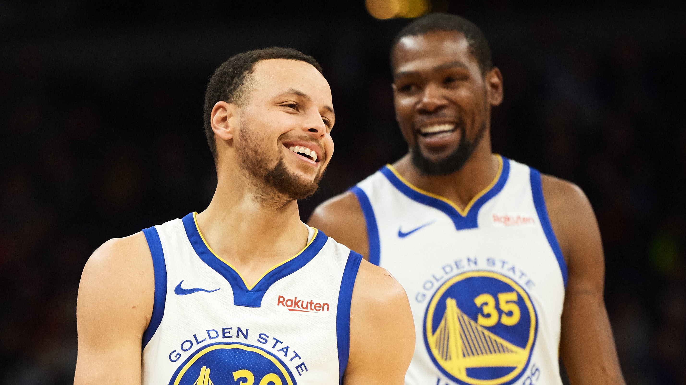 NBA Golden State Warriors Stephen Curry Kevin Durant