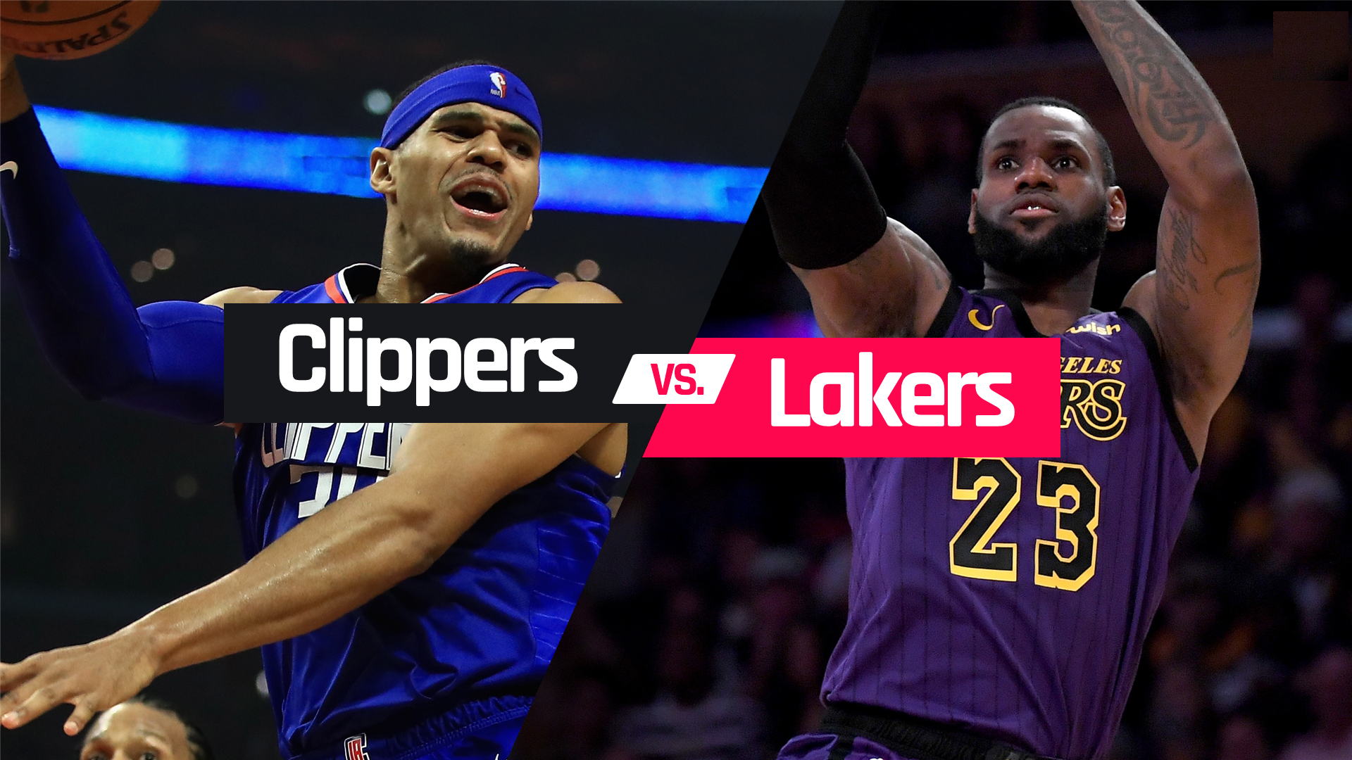 Lakers vs Clippers roster winner NBA
