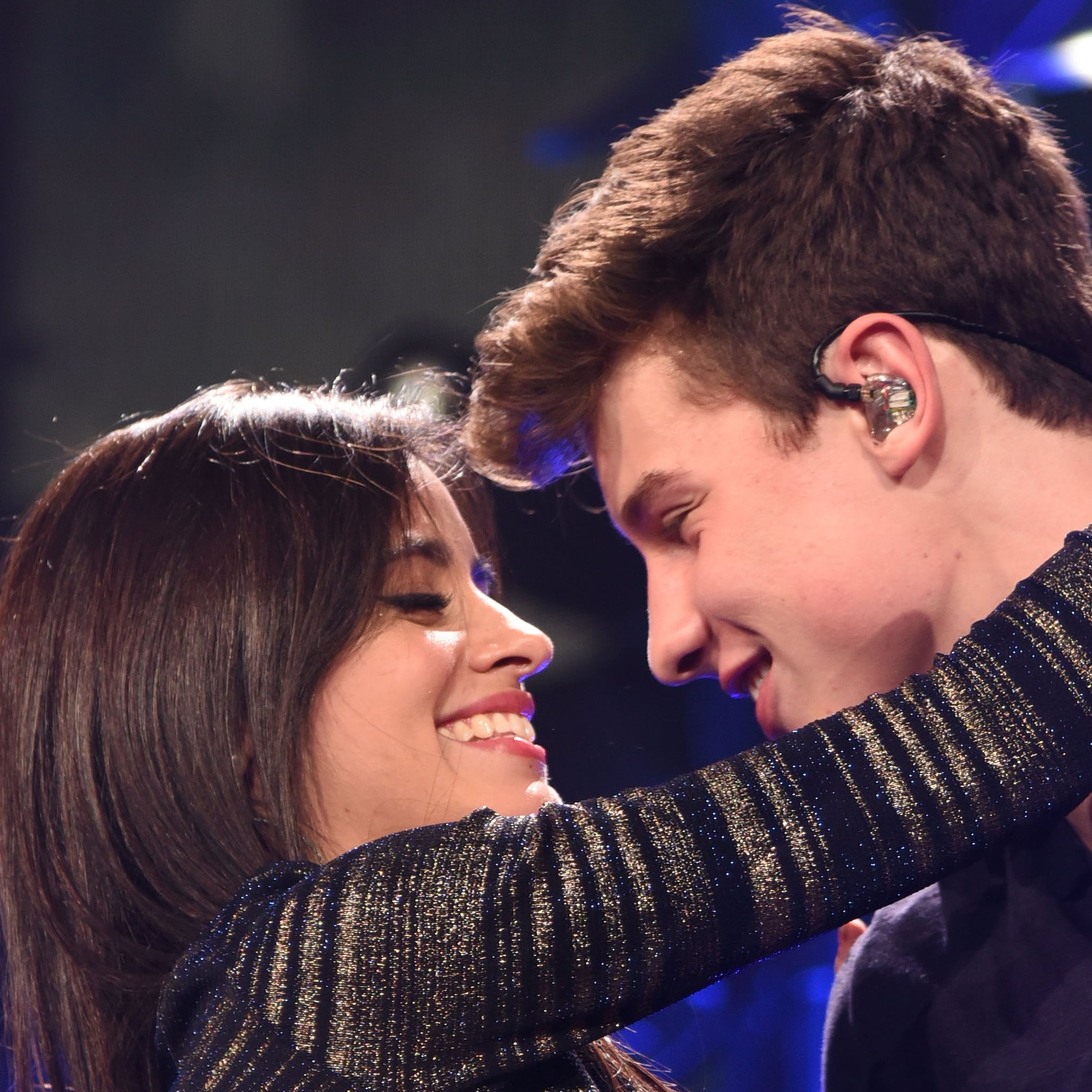Camilla Cabello and Shawn Mended major PDA during the brunch