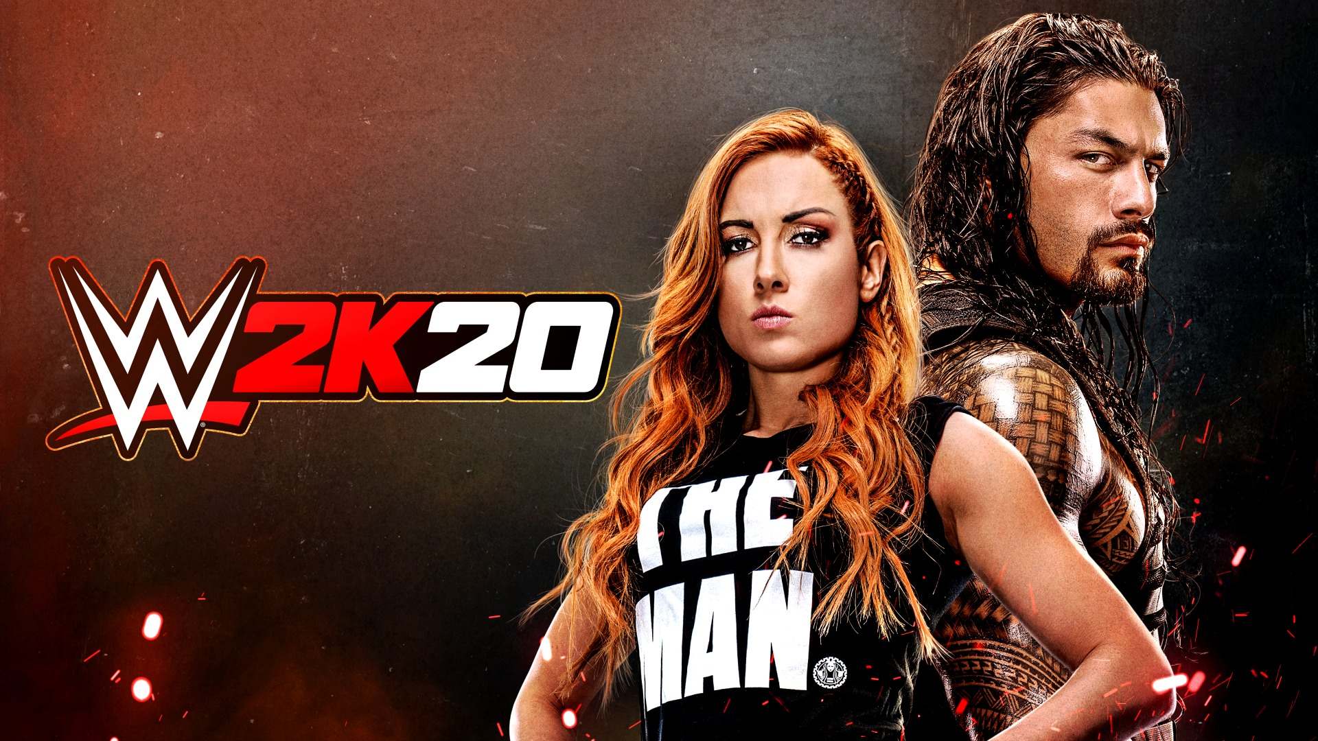 Becky Lynch Roman Reigns WWE 2k20