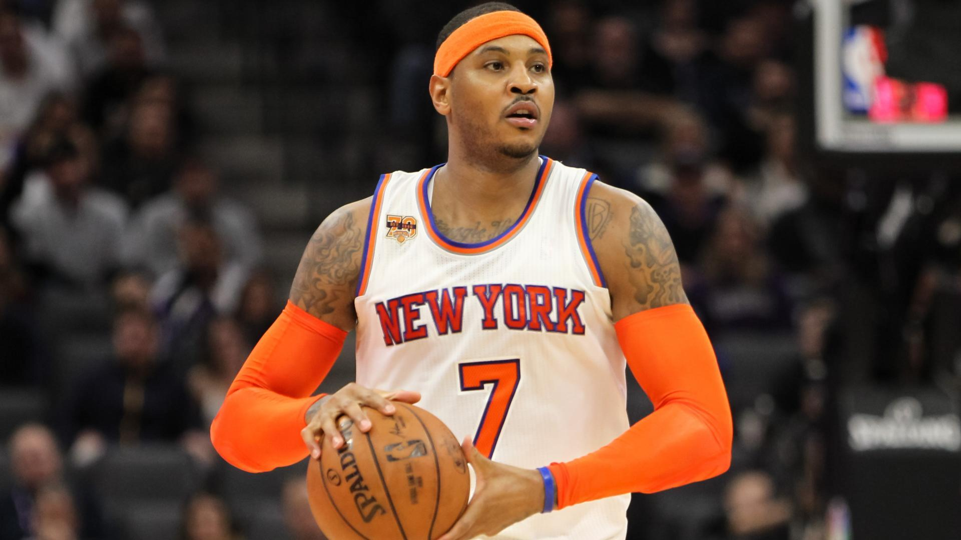 Carmelo Anthony New York Knicks trade deal