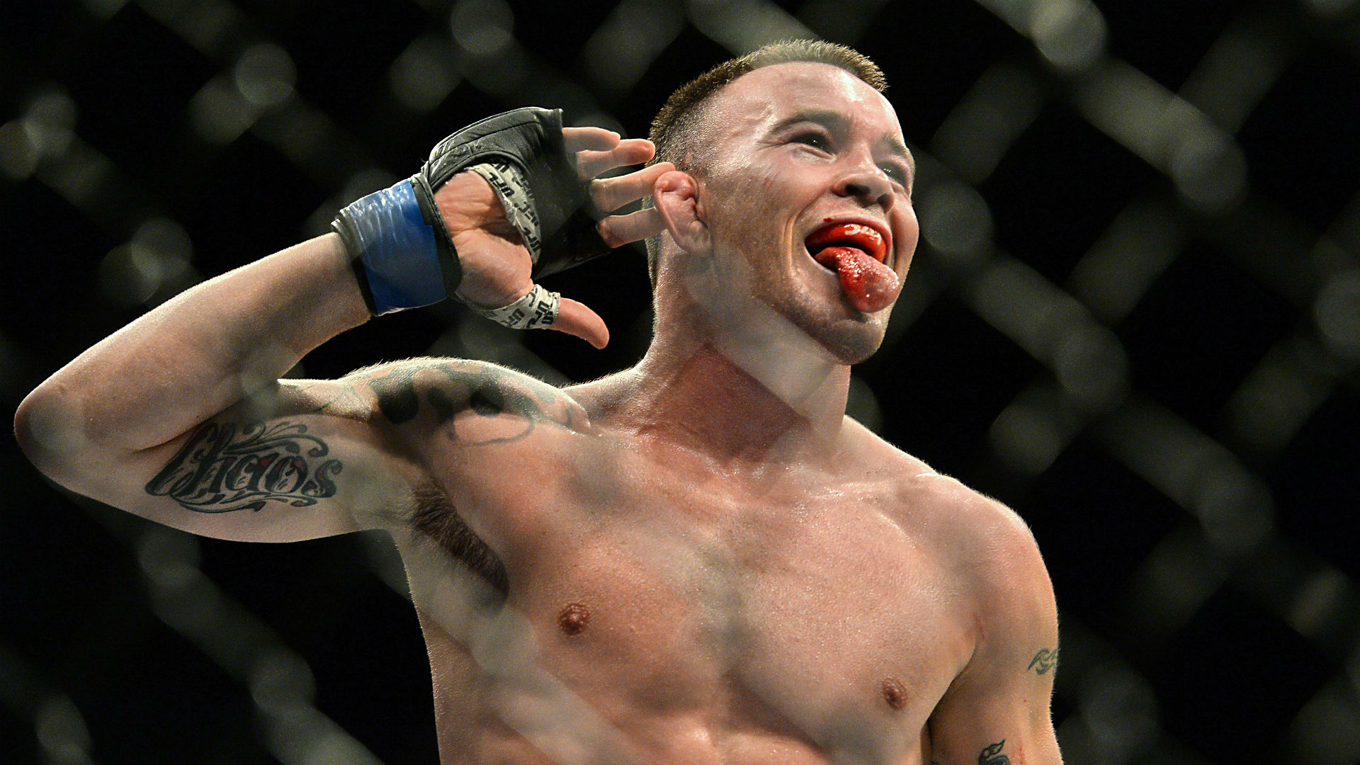 UFC Newark Colby Covington Joining WWE