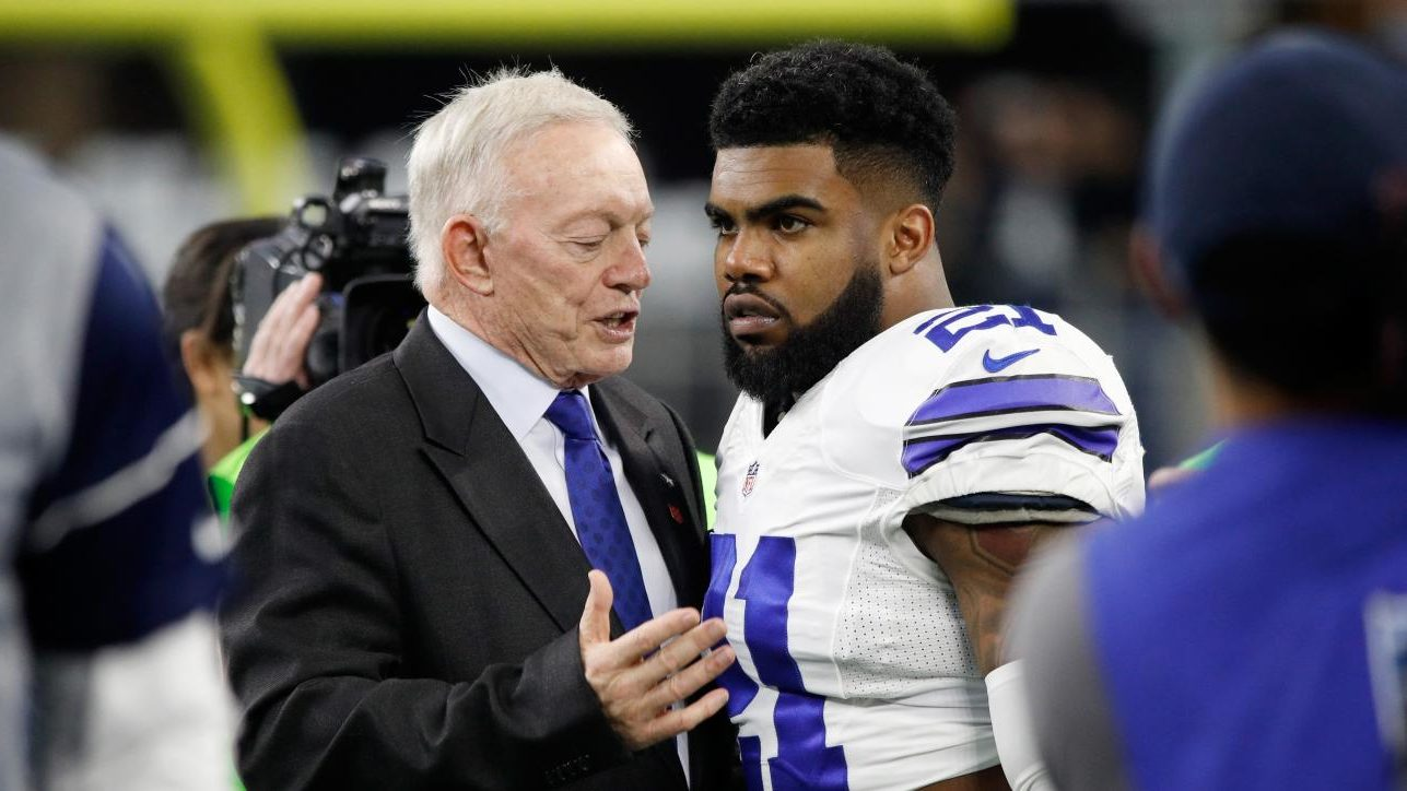 NFL Rumors Cowboys Ezekiel Elliot Jerry Jones Running Back