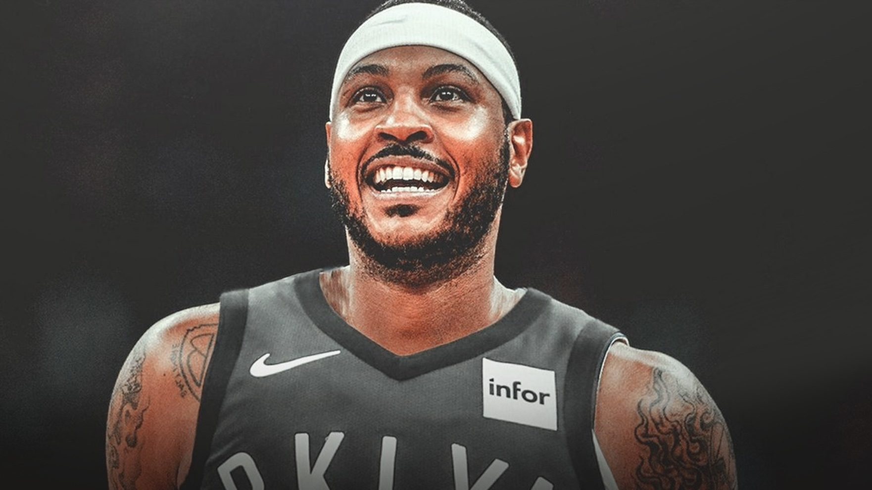 NBA Carmelo Anthony Kevin Durant Kyrie Irving Brooklyn Nets