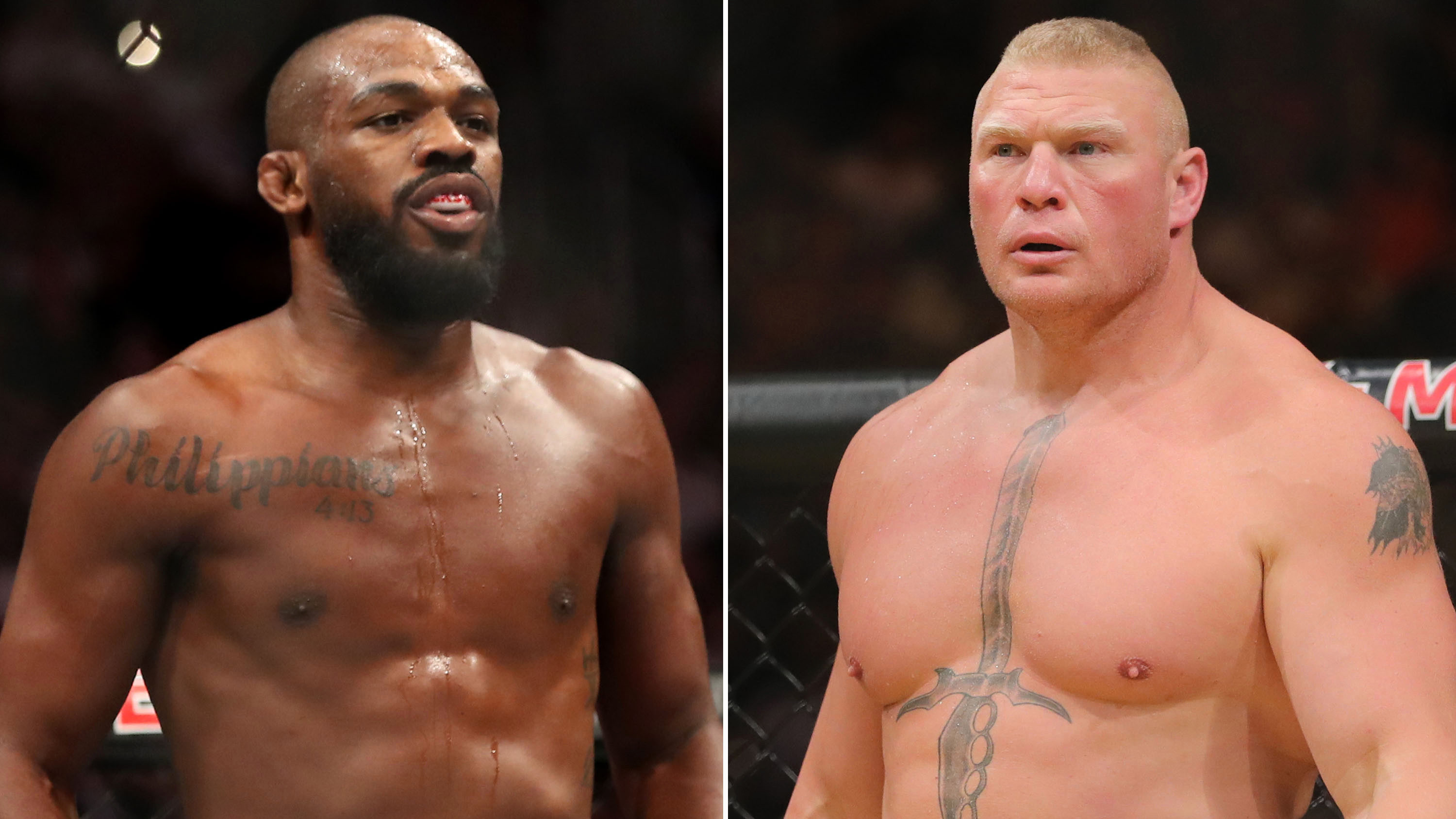 UFC Jon Jones vs Brock Lesnar