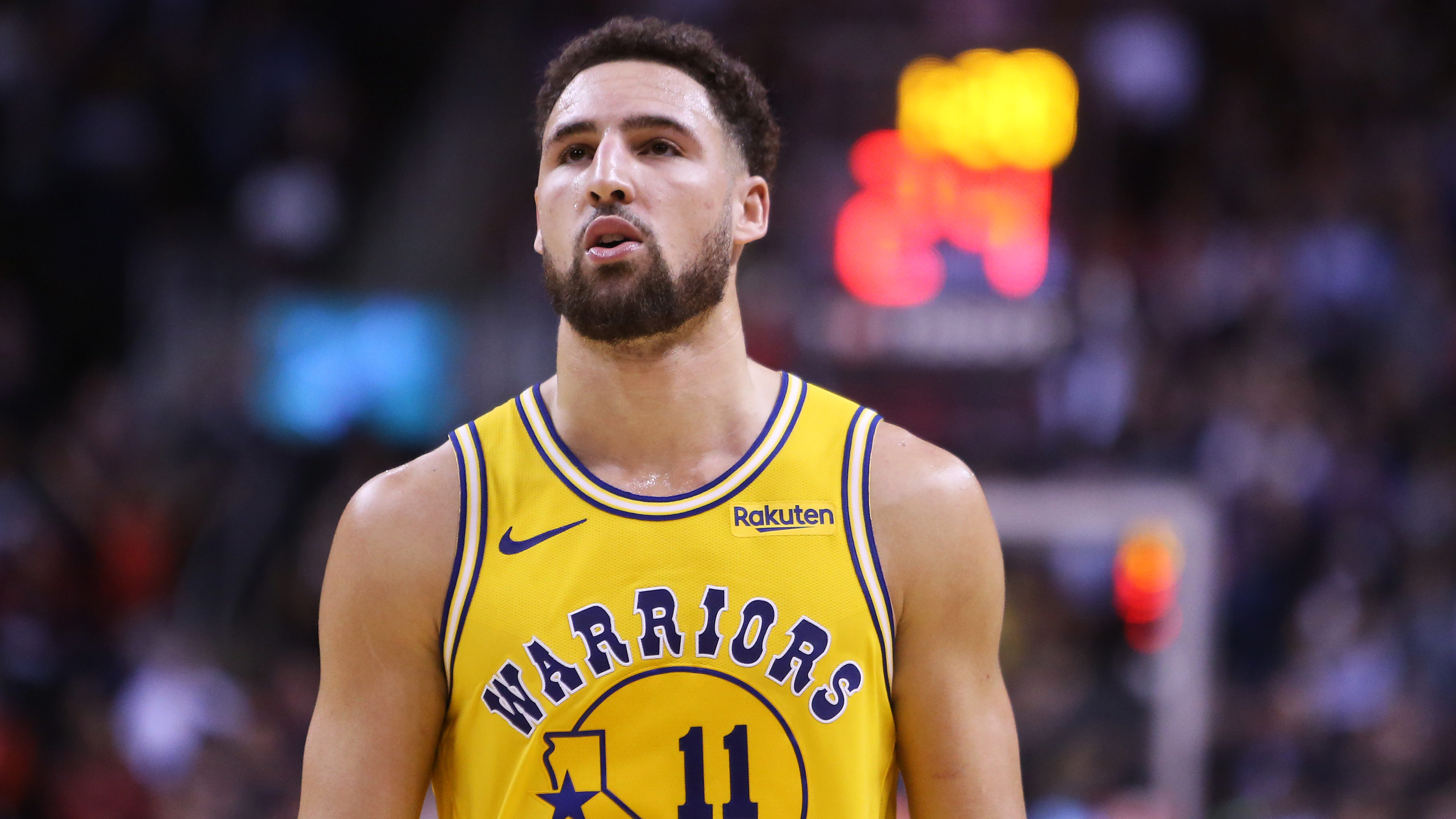 NBA Rumors Klay Thompson Golden State Warriors return injury
