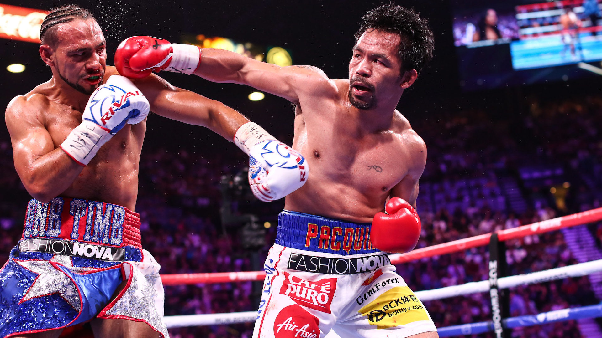 Pacquiao vs Thurman 2 Boxing Rematch