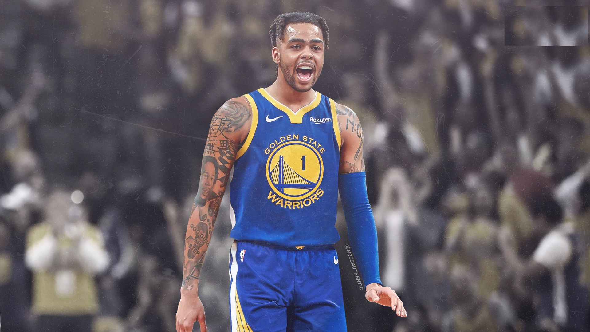 NBA DAngelo Russell Golden State Warriors Brooklyn Nets