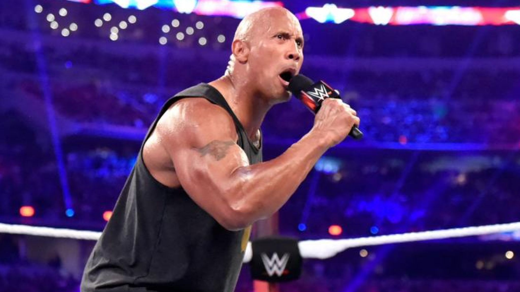 The Rock WWE Retirement