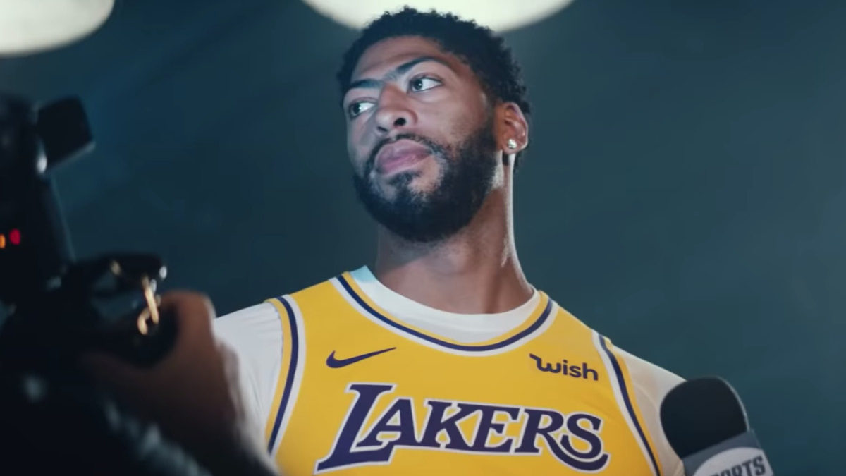 NBA Los Angeles Lakers Anthony Davis LeBron James Replacement