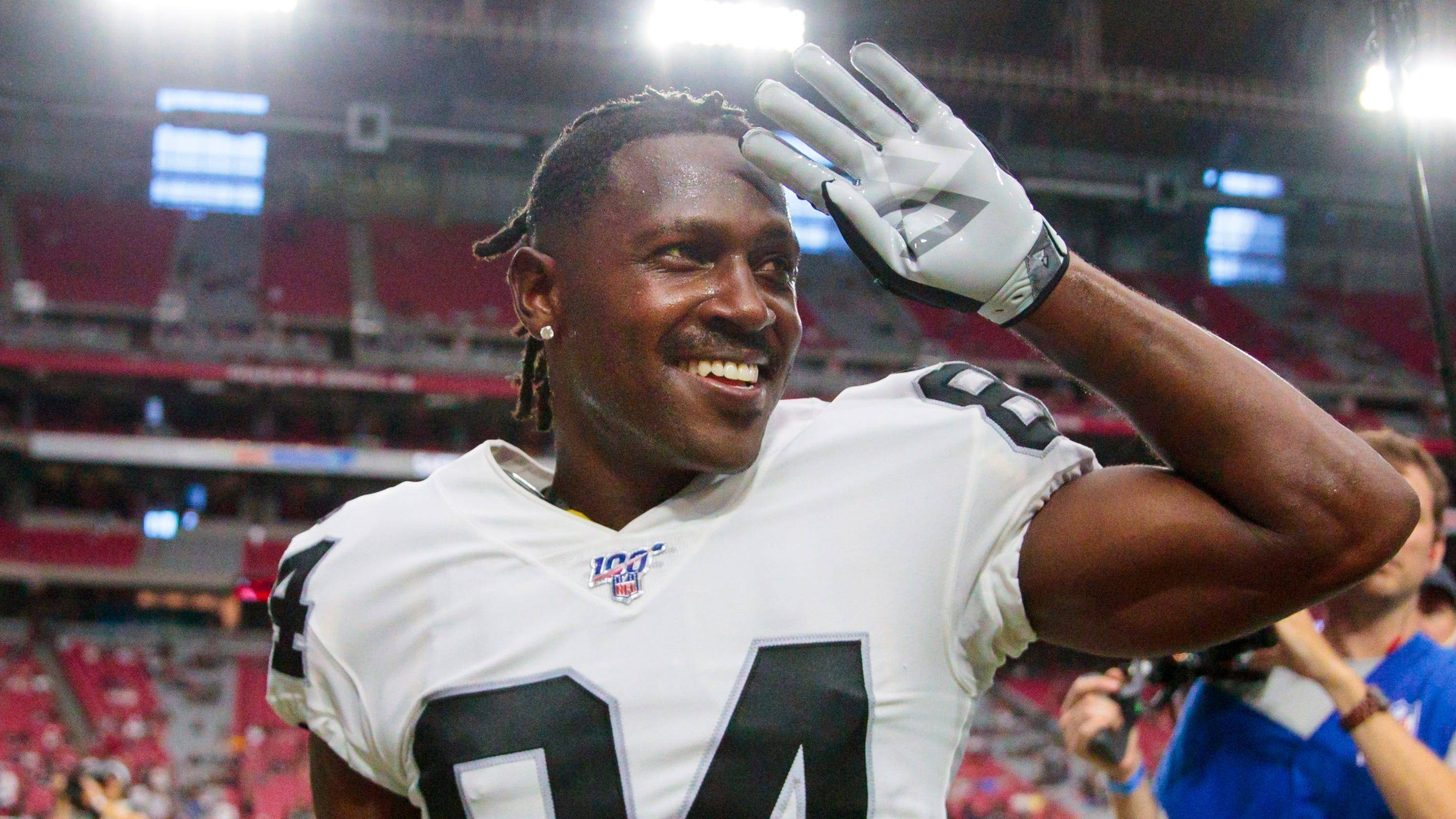 NFL Antonio Brown Patriots vs Dolphins Week 2 Sunday