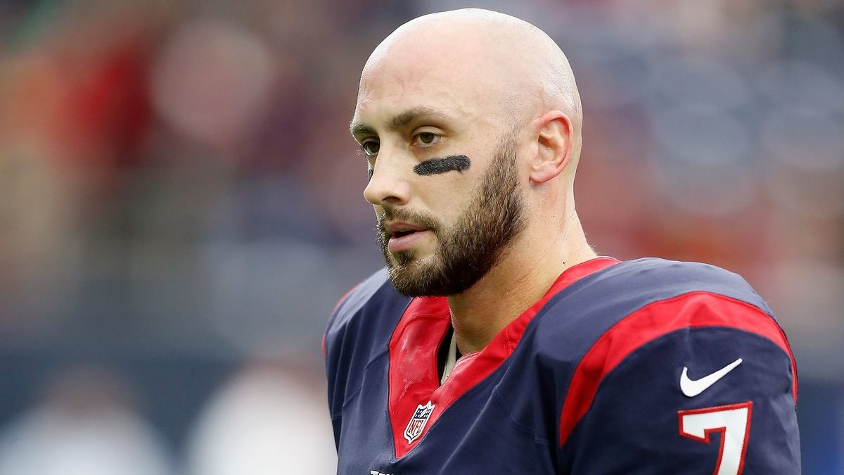 NFL Brian Hoyer Deal Indianapolis Colts Andrew Luck Replacement