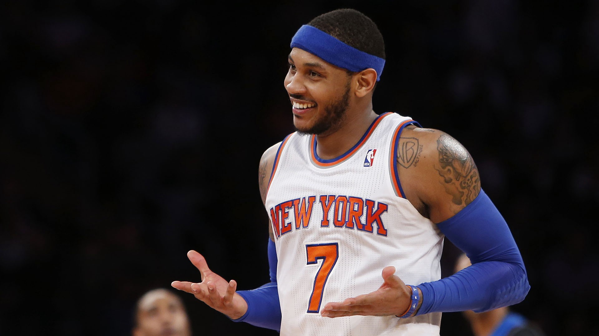 NBA Carmelo Anthony New York Knicks deal