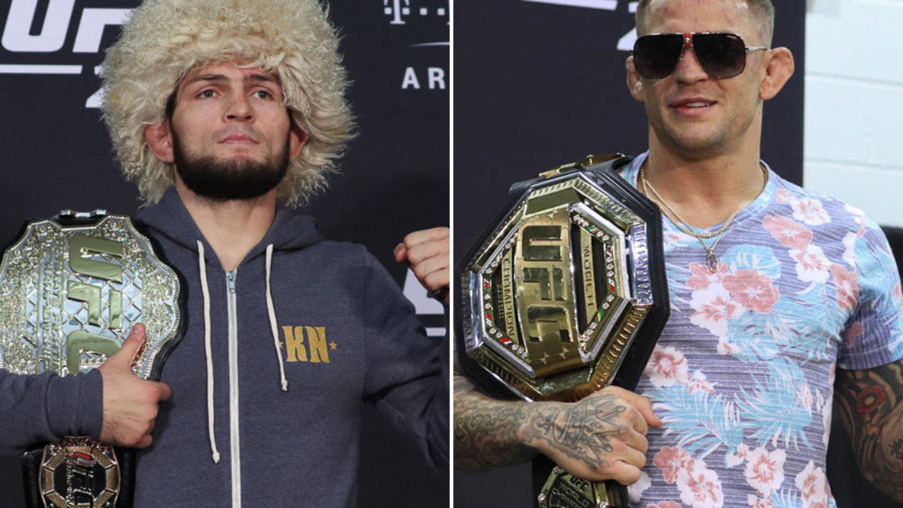Betting Odds Khabib vs Poirier and Barboza vs Felder
