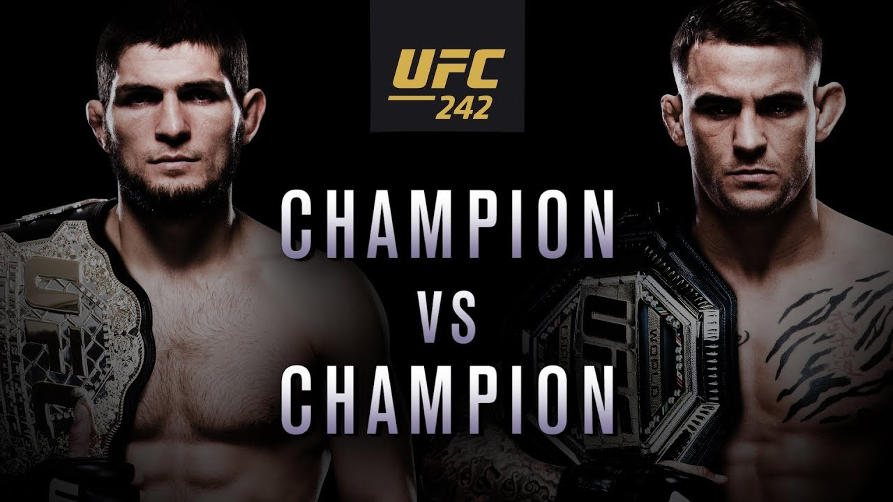 Watch Online Khabib vs Poirier at UFC 242 Abu Dhabi