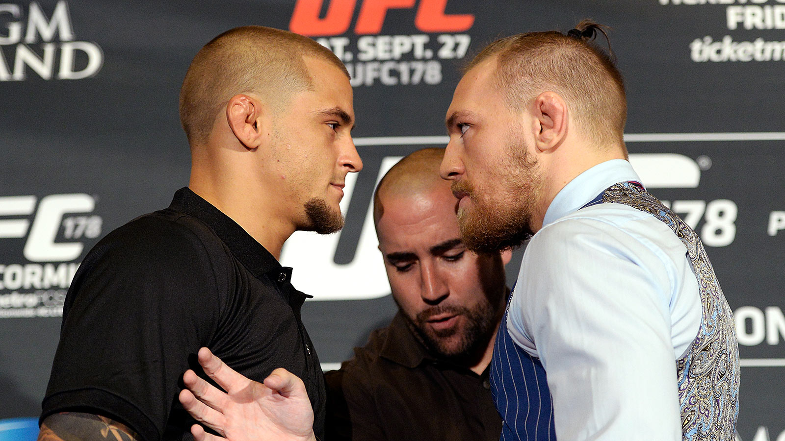 McGregor vs Poirier