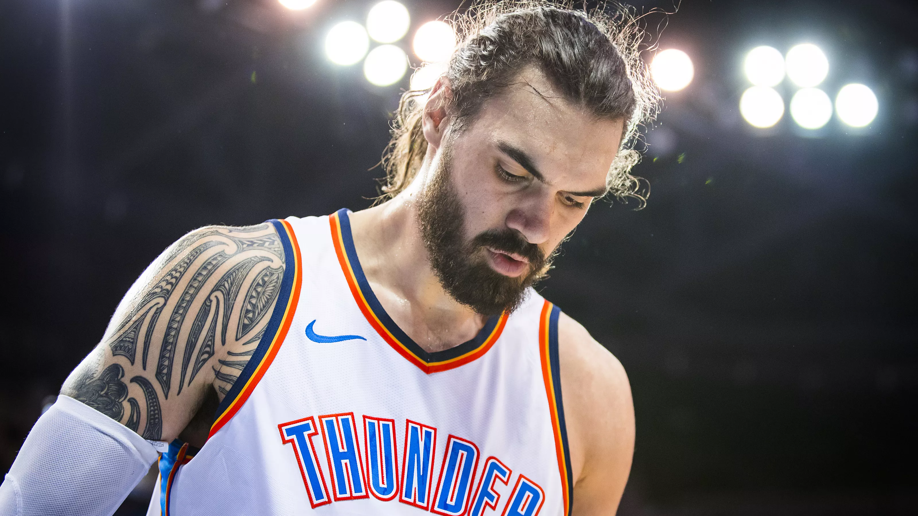 NBA Oklahoma City Thunder Steven Adams Deal With San Antonio Spurs Trade