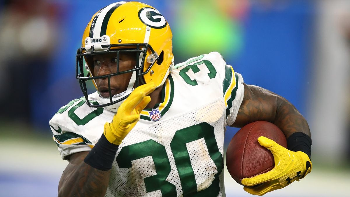 NFL Jamaal Williams Retirement Packers vs Eagles