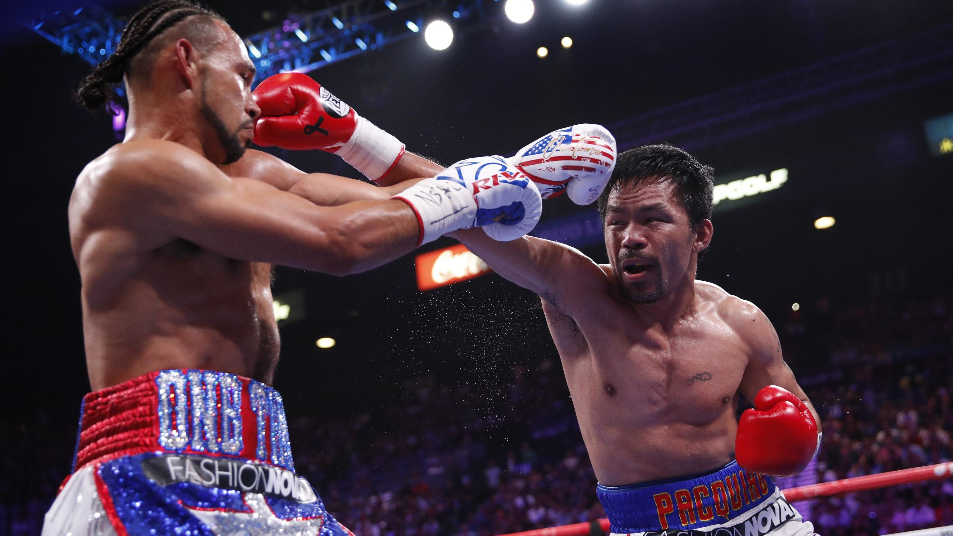 Pacquiao vs Thurman 2 Rematch