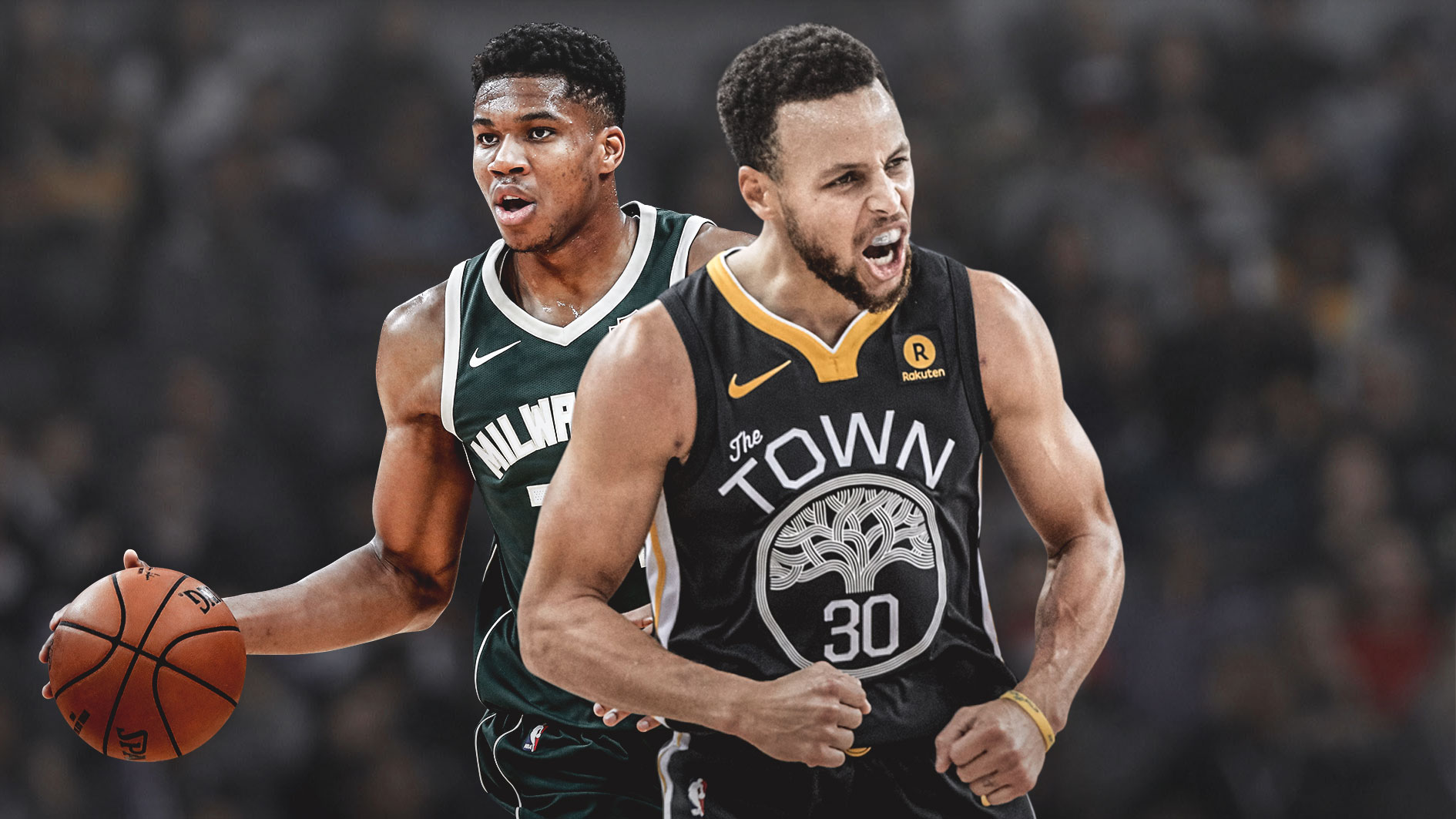 NBA Stephen Curry Giannis Antetokounmpo Golden State Warriors