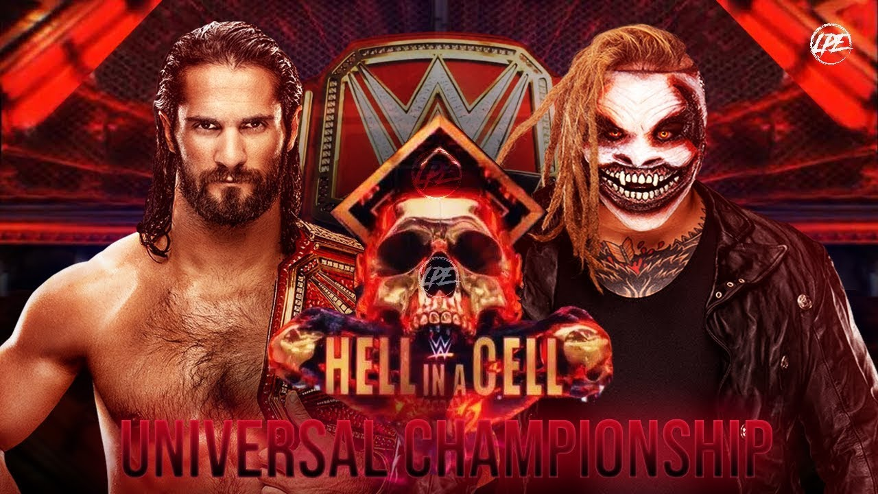WWE The Fiend vs Seth Rollins Hell in a Cell