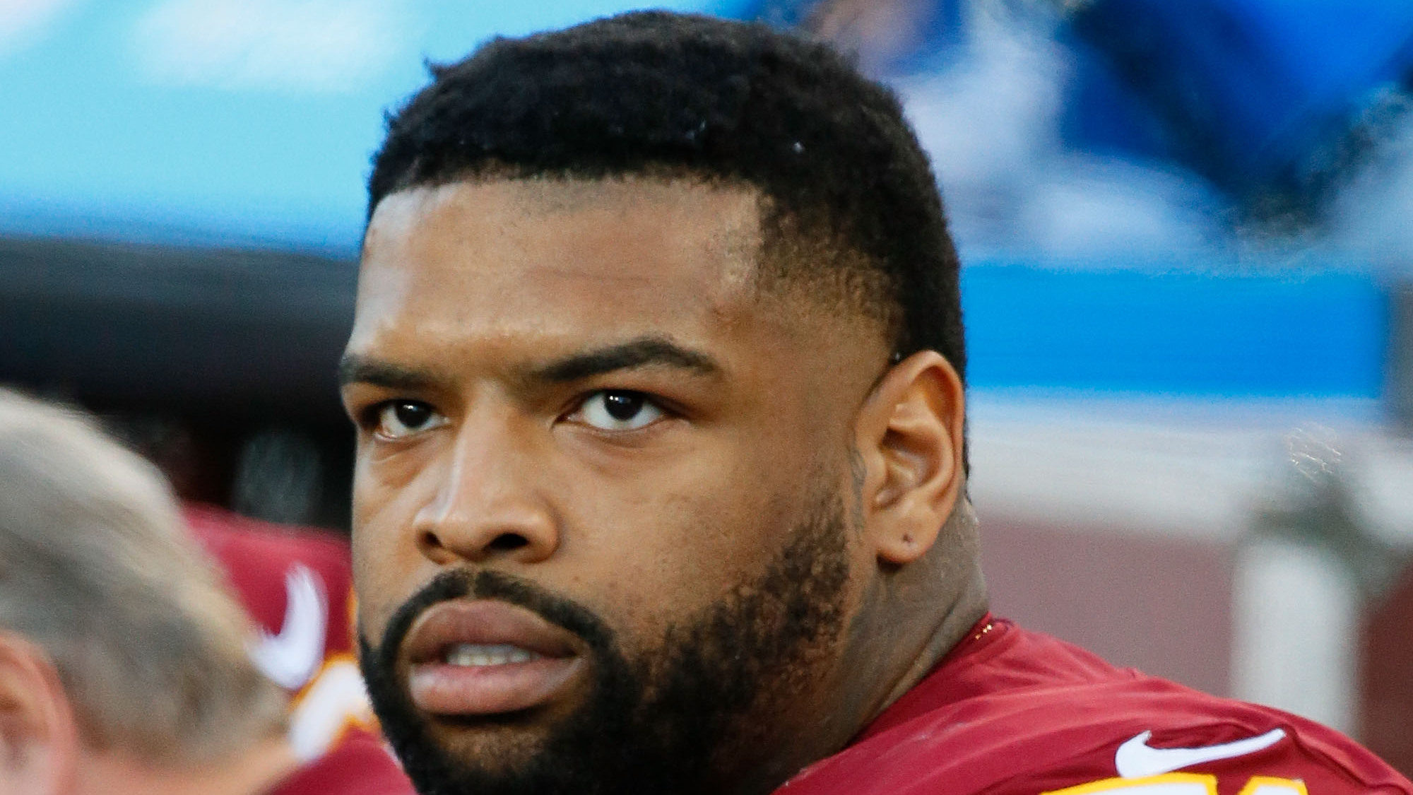 NFL Washington Redskins Offensive Tackle Trent Williams Retirement