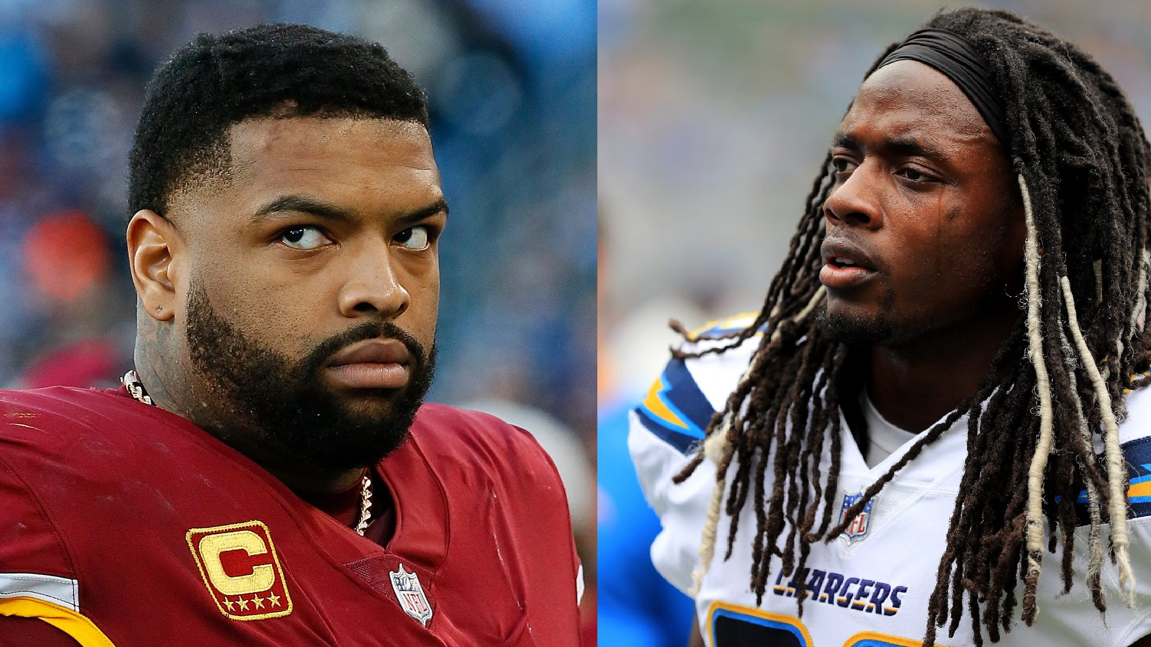 NFL Melvin Gordon Trent Williams Deal Chargers Redskins