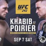 UFC 242 Main Event Khabib vs Poirier