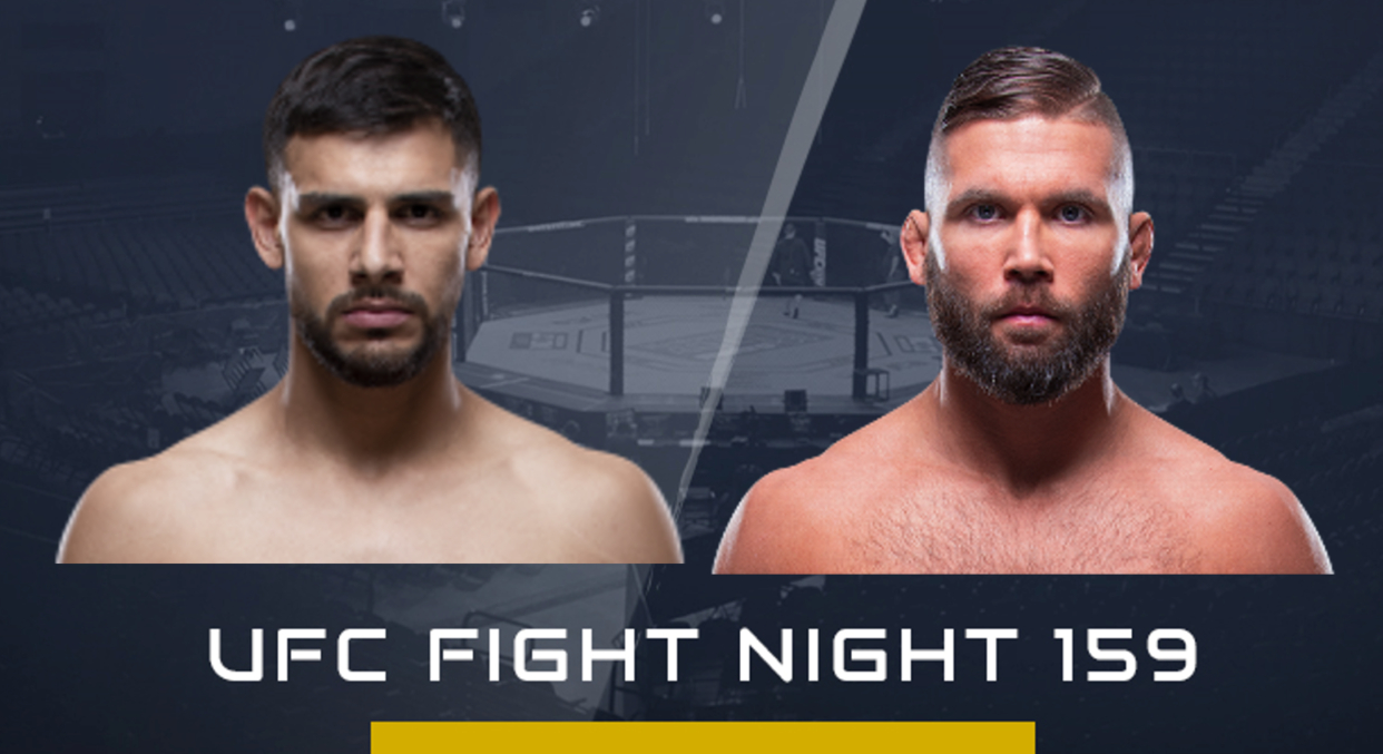 UFC Mexico City Jeremy Stephens vs Yair Rodriguez