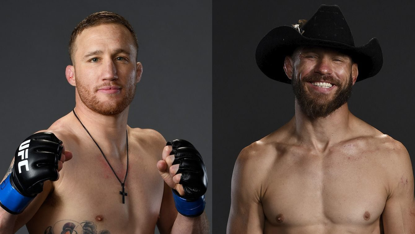 UFC Fight Night 158 cerrone vs gaethje