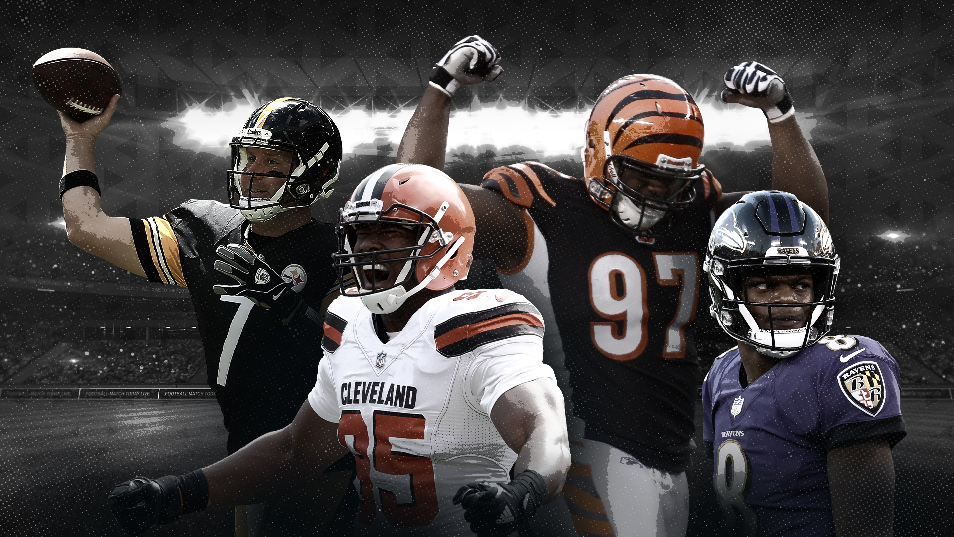 AFC North Division Rankings for Browns, Ravens and Steelers after Week 5 Games