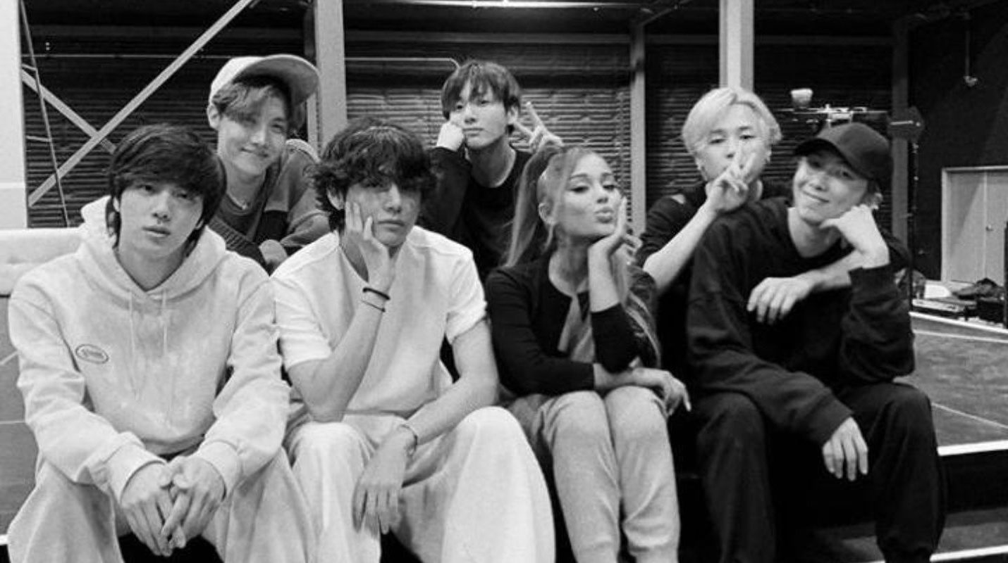 BTS and Ariana Grande Photo breaks the Internet, 2020 World Tour Dates Revealed for the Band