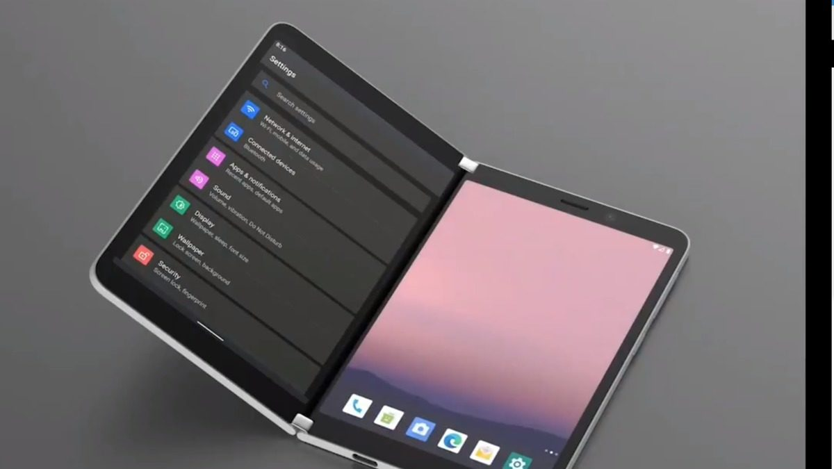 Microsoft Surface Duo Release Date, Specs, Leaks Notifications Peek Feature in the Android Phone