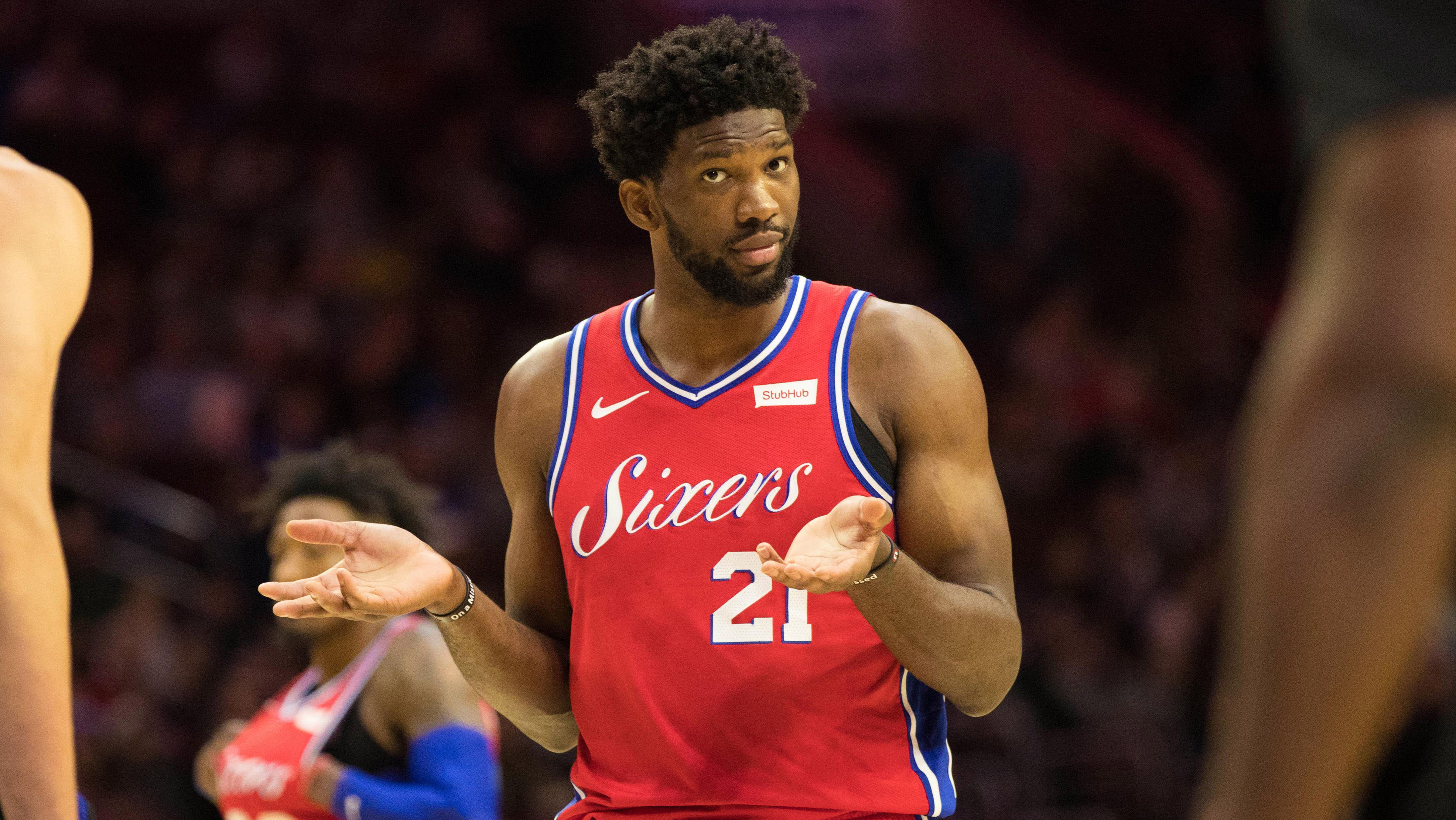 NBA Trade Rumors Joel Embiid to leave Philadelphia 76ers due to Ben Simmons and join Jimmy Butler in Miami Heat