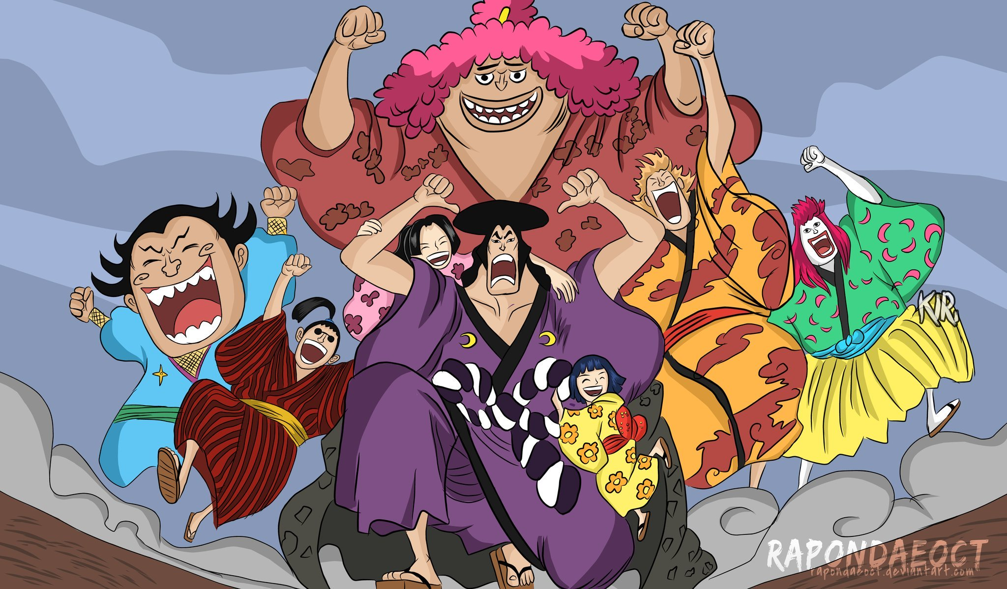 One Piece Chapter 971 Release Date, Spoilers: Oden's Last Sacrifice and Toki saving the Nine Red ...
