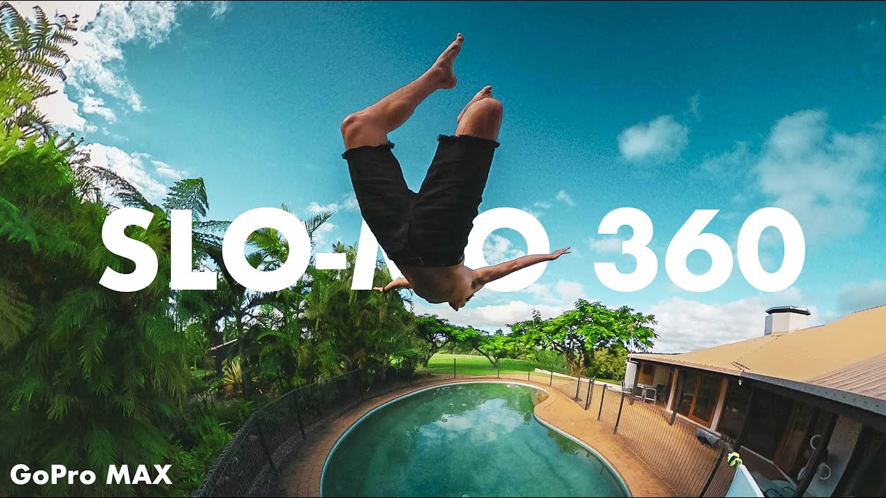 GoPro Max New Update features: Slow motion