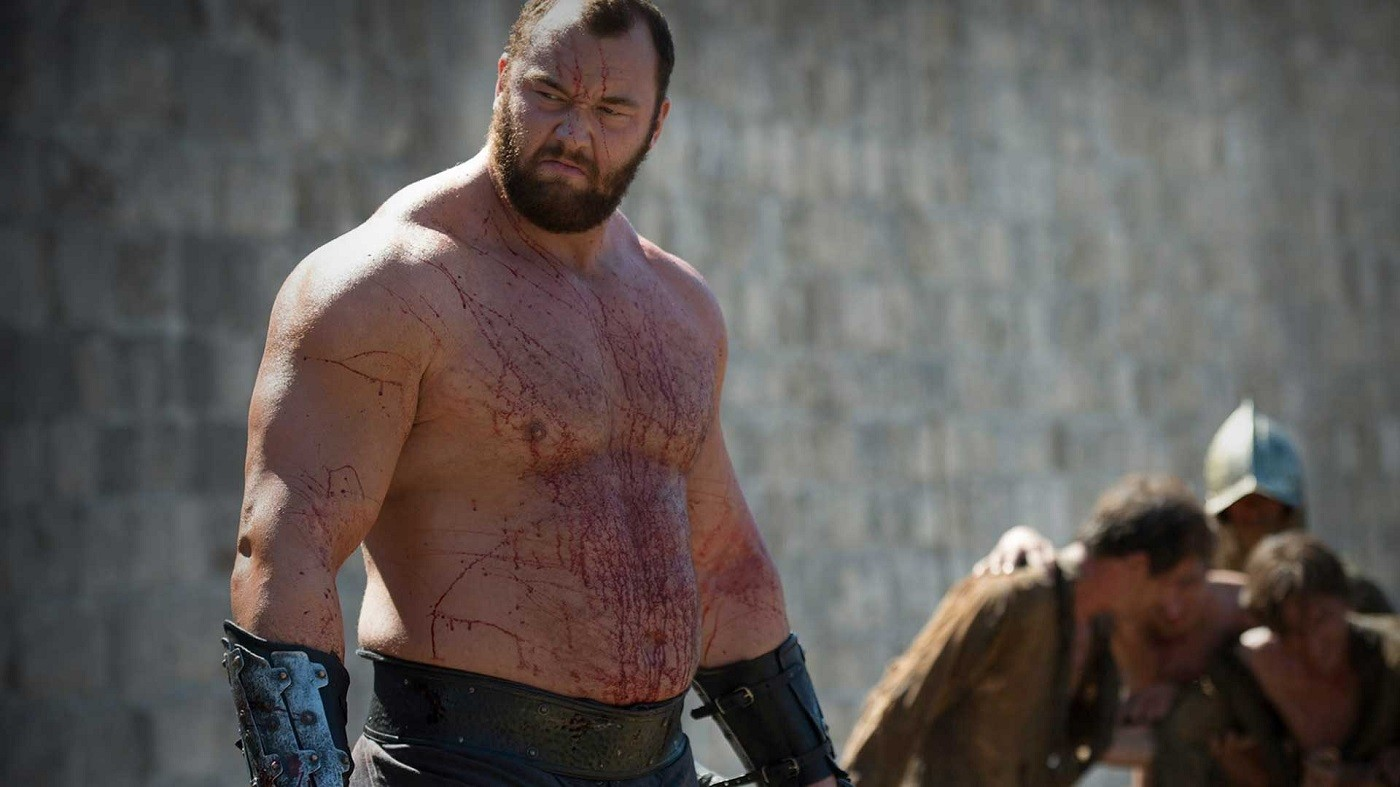 Hafthor Bjornsson as The Mountain in Game of Thrones