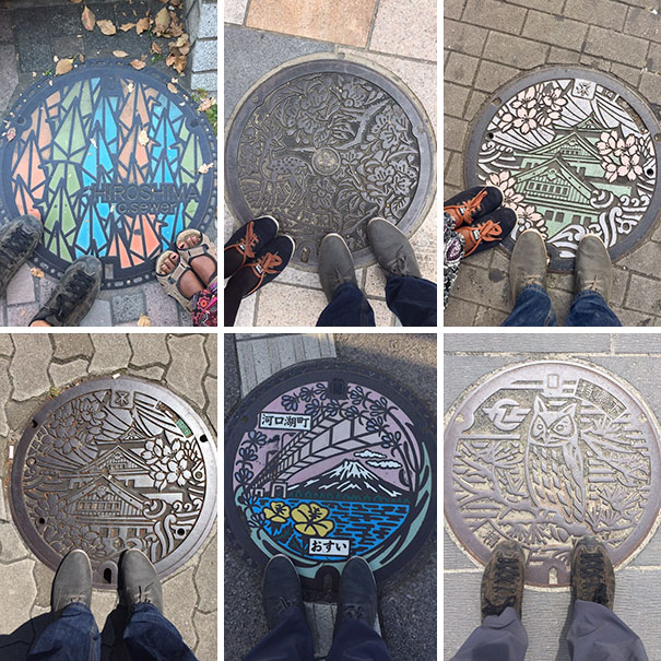 Japan goes creative with the manhole covers