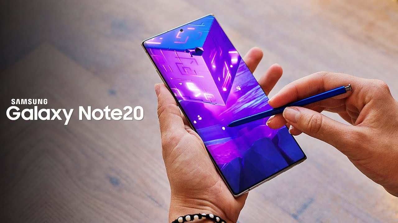 The new Samsung Galaxy Note 20