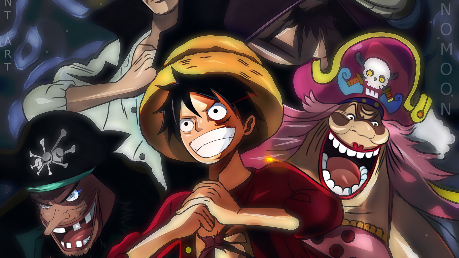 A still from One Piece