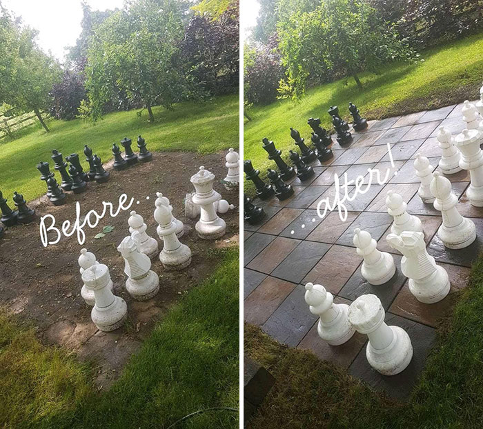 Chess can be played best in the laps of nature