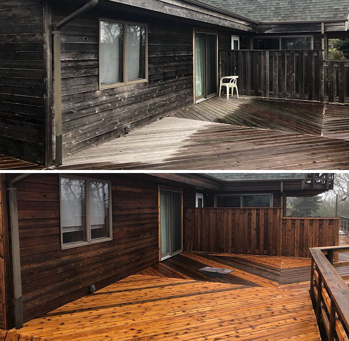 Let's bring out the original wooden cabin & fence