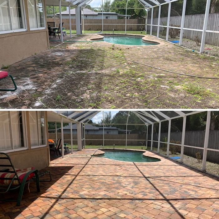 Power washing at its best!