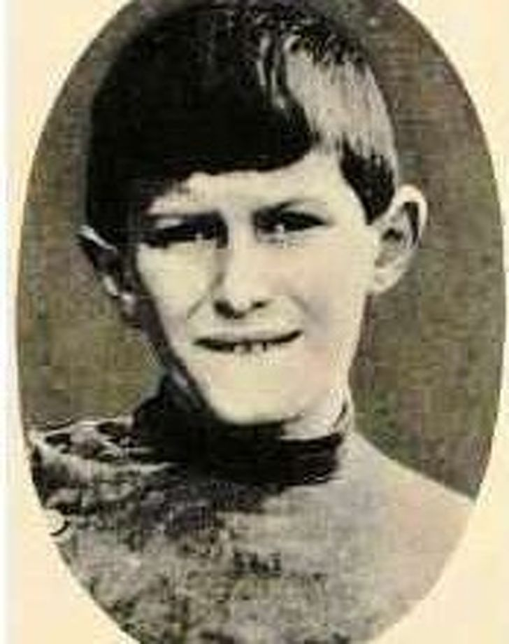 william at the age eight